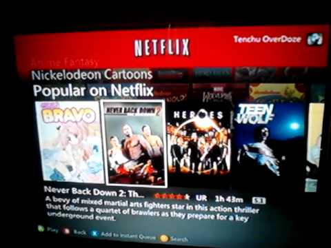 How to sign out of netflix on xbox 360