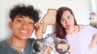 Download Handcuffing Myself To My Mom!?! (HILARIOUS) Video