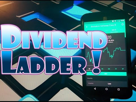 Robinhood APP - Build a DIVIDEND LADDER for Consistent Dividend Payments!