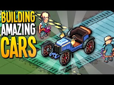 BUILDING AMAZING CARS AND RUNNING THE BEST CAR FACTORY EVER - Epic Car Factory Gameplay