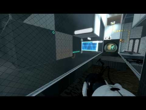 Apparently The Exit's Right Ahead (Let's Play: Portal 2 - Daniel's Map - Part 1)