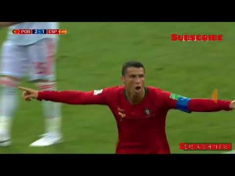 Portugal vs spain highlights  l fifa world cup 2018 highlights l