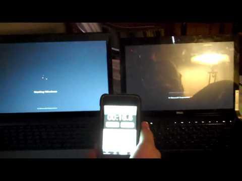 Window 7 And Windows vista Boot up