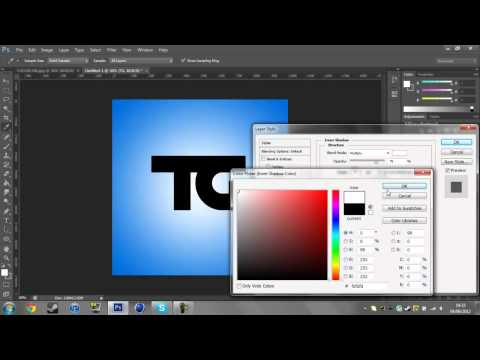 How To Join Letters & Adjust Spacing Of Text In Photoshop CS6/5
