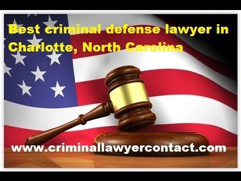 Find best criminal defense lawyer,attorney in Charlotte, North Carolina, United States