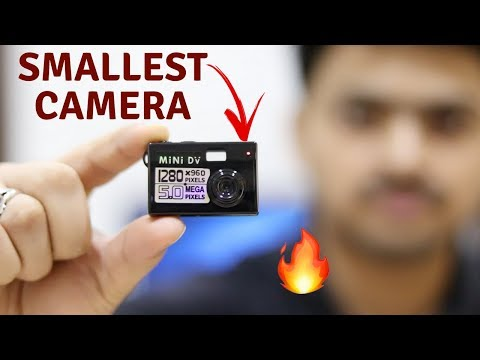 Worlds smallest camera Unboxing & Review