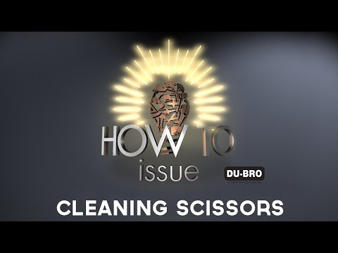 Model Aviation How-To:  Cleaning Tape Residue On Your Scissors