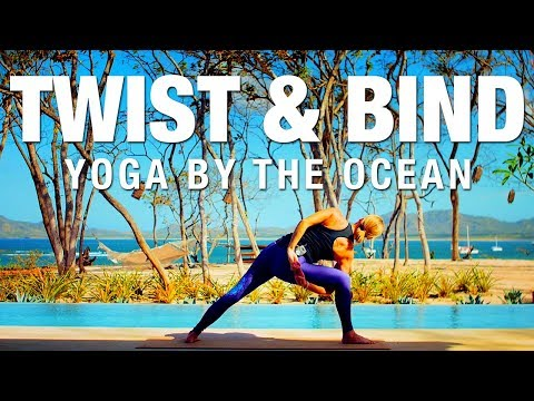 Twist & Bind by the Ocean Yoga Class - Five Parks Yoga