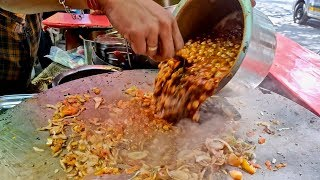 Download Chole Kulche for Rs 50 | Cheapest Chole Kulche in Mumbai | Indian Street Food Video