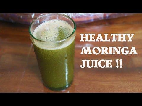 Moringa Detox Juice Recipe - LIVER FLUSH!