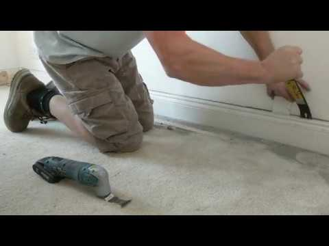 Removing Skirting Boards