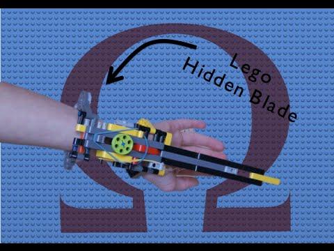 Working Lego Assassin's Creed Hidden Blade