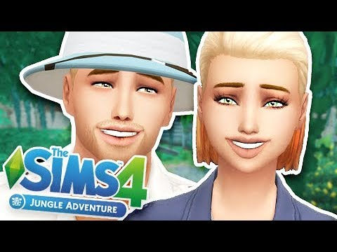THE SIMS 4 JUNGLE ADVENTURE | CAS OVERVIEW!
