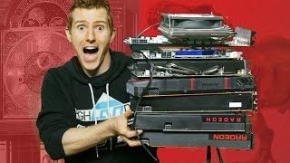 10 Years of AMD Video Cards BENCHMARKED!