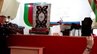 181 nomreli orta mektebin Qaynana adli tamaşasi