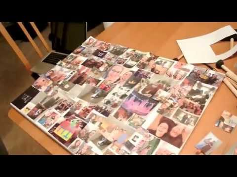 DIY photo collage ~Rachel and Veronika