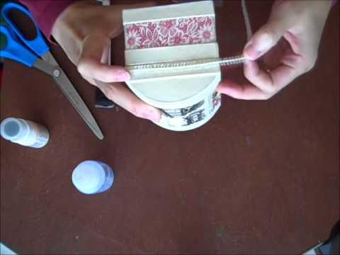 Paper Marche Treasure Box