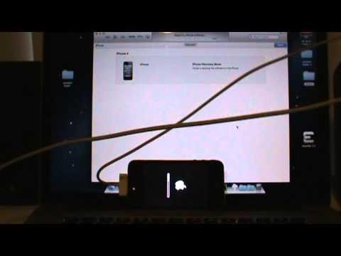 How to fix itunes error! restore iphone after using TinyUmbrella Mac.MPG