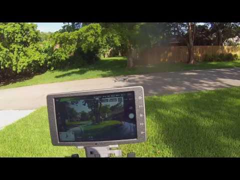 DJI Crystalsky 5.5 1000 nit , Direct Sunlight Test