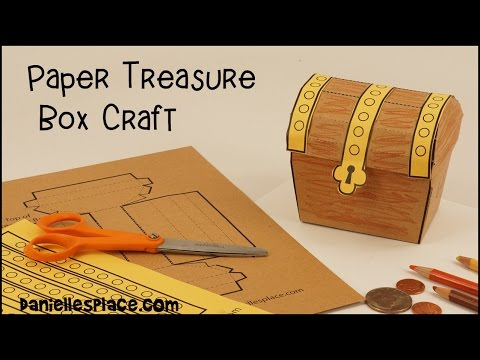 Paper Treasure Box Craft - View it and Do it Craft
