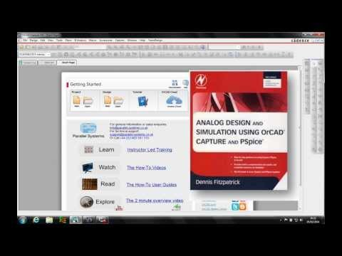 OrCAD PSpice Simple Circuit Page 48 Video 2 of 6