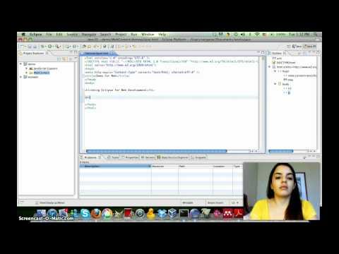 LIS 5362: Eclipse for Static Web Development
