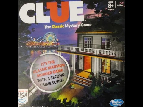 What's Inside - Clue (2013) Board Game