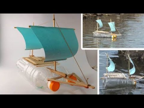 How to Make a Boat from Bottle