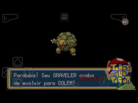 Como Evoluir Graveller no Pokemon Fire Red