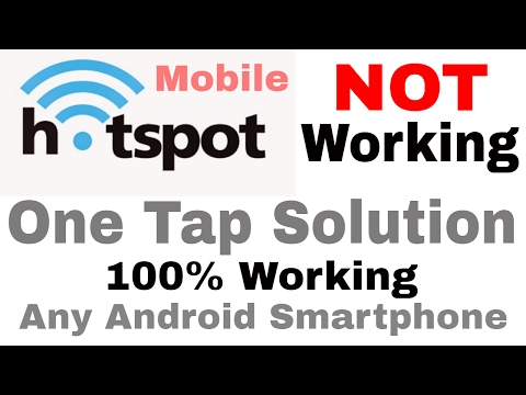 Tethering and Hotspot Not Working Fix it with One Tap