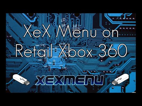 How to Install XeX Menu on a Retail Xbox!!! (PROOF)