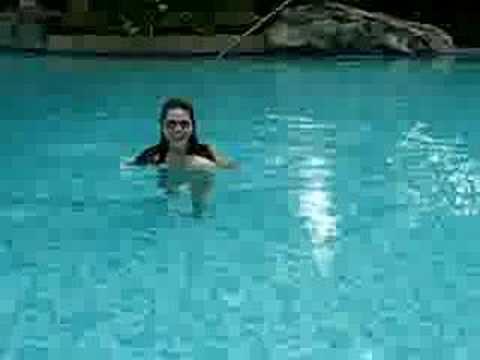 At Pan Pacific pool-Mani
