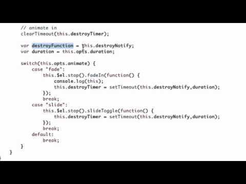 Javascript SetTimeout and jQuery Scope Problems