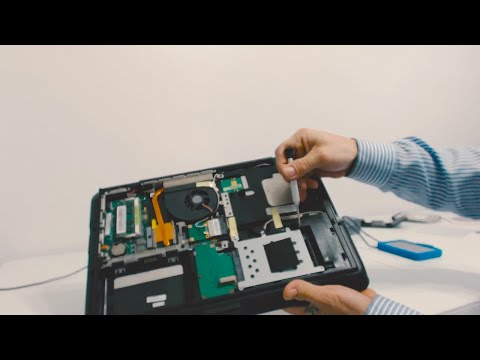 How to Remove and Replace Asus K60I Hard Drive from Laptop