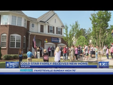NC Gold Star family given mortgage-free home in north Raleigh