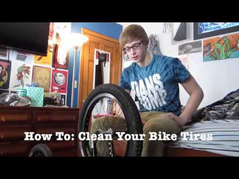 How to: Clean your Bike Tires