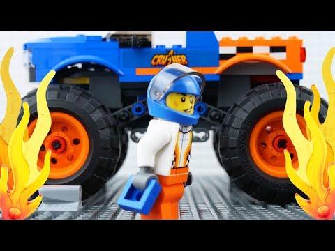 LEGO City Monster Truck Fail STOP MOTION Monster Truck Brick building | LEGO City | By LEGO Worlds