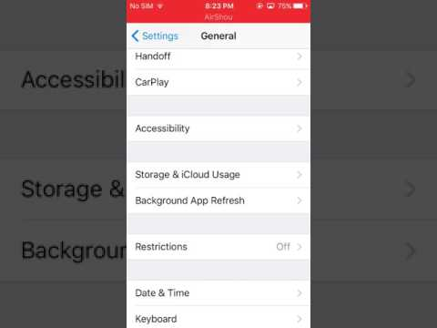 How to get assistive touch in IPhone