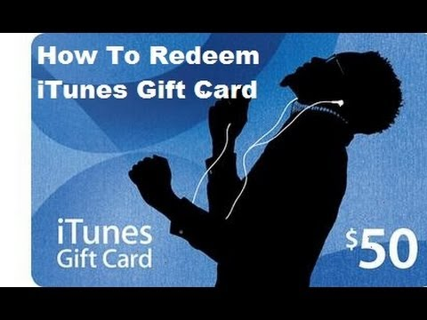 How To Redeem Your App Store Gift Card. [HD]