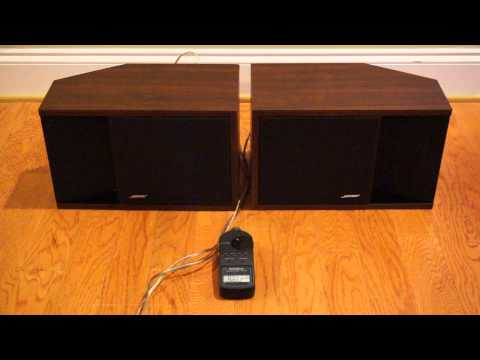 Bose 201 Series II Demo