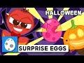 NEW SURPRISE EGGS HALLOWEEN LARVA KIDS EGG SONG SUPER BEST SONGS FOR KIDS