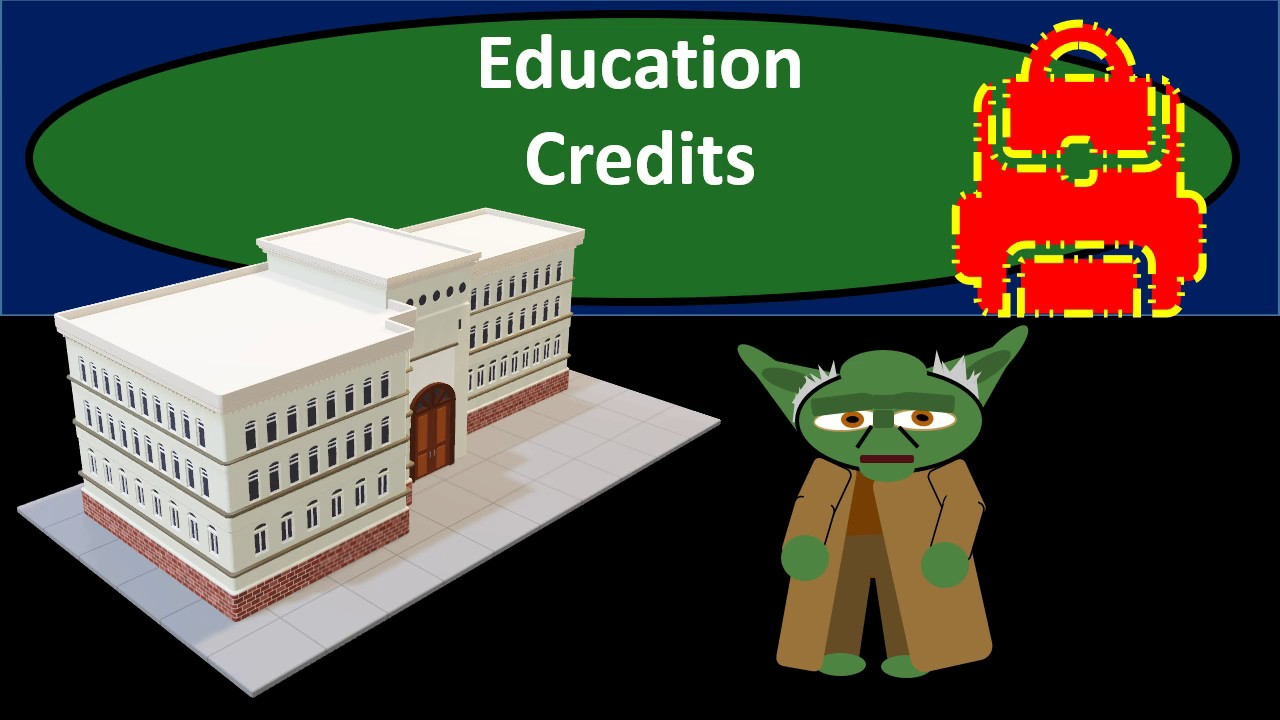 Education  Credits - Income Tax 2018 2019