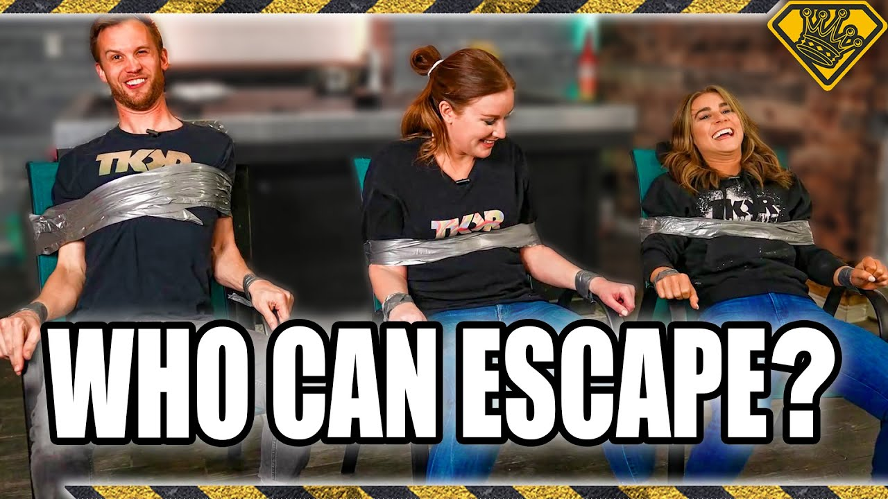 Can You Escape Being Duct Taped To A Chair?