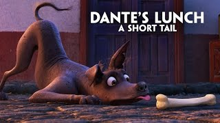 "Disney•Pixar's Coco presents ""Dante's Lunch - A Short Tail"""