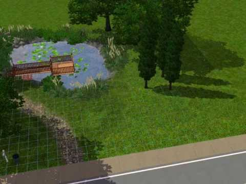 The Sims 3 How to make a Pond?
