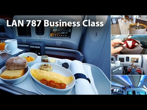 LAN Business Class 787-8 / 787-9 Inflight review (LA800 SYD-AKL-SCL, LA445 SCL- EZE)