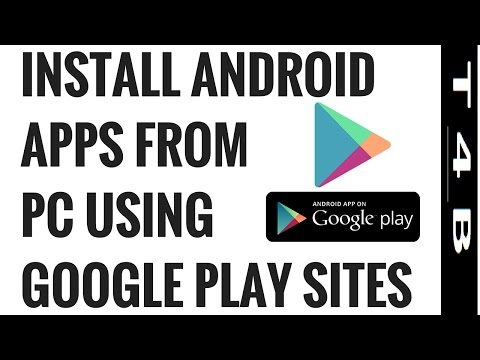how to  install Android apps from PC to Android Smart phone or tablet PC, Google Play store site