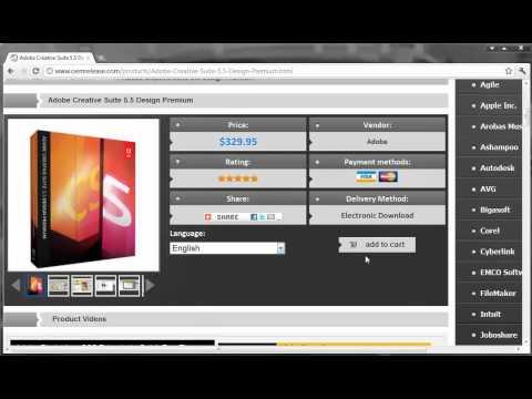 buy cheap Adobe Creative Suite 5.5 Design Premium.mp4