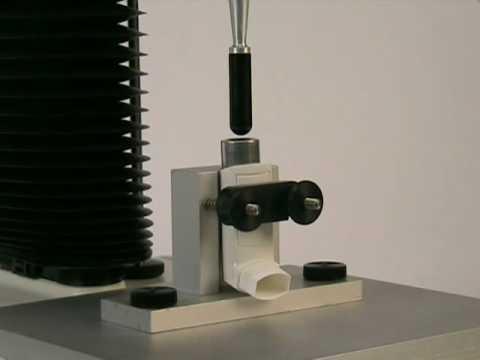 Measure Actuation Force: Inhaler Support Rig