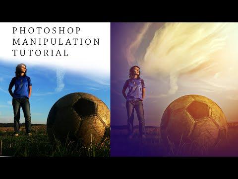 Photoshop Manipulation Tutorial   Football Soft Light Photo Effects